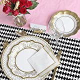 TALKING TABLES PARTY PORCELAIN GOLD Paper Plates