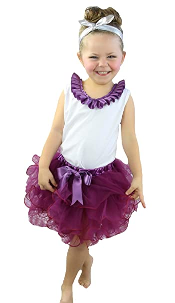 Cumpleaños Vestido cordones blanco camisa Rojo Vino pétalos Falda Outfit Set nb-8y: Amazon.es: Ropa y accesorios