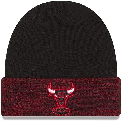 New Era Winterm/ütze Beanie Basic Cuff Knit Chicago Bulls