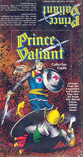 PRINCE VALIANT COLLECTOR CARDS 1995 COMIC IMAGES FACTORY TRADING CARD BOX (Comic Images Trading Card Box)