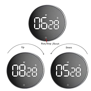 Kitchen Timer,OVEKI Digital Classroom Timerï¼?One Button Operation, Magnetic countdown timer for Kids Teacher and Elderly,for classroom home work