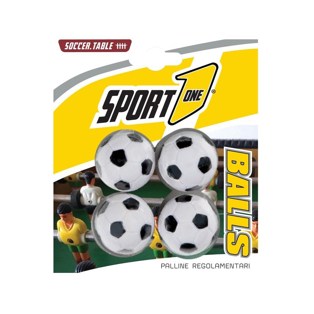 Blíster 4 pelotas de futbolín, 4 piezas, bolas para futbolín ...