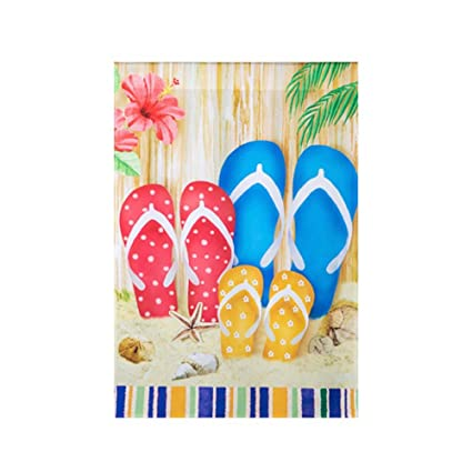 1e2e8147a2acff Image Unavailable. Image not available for. Color  Darice Flip-Flop House  Flag Home Decor