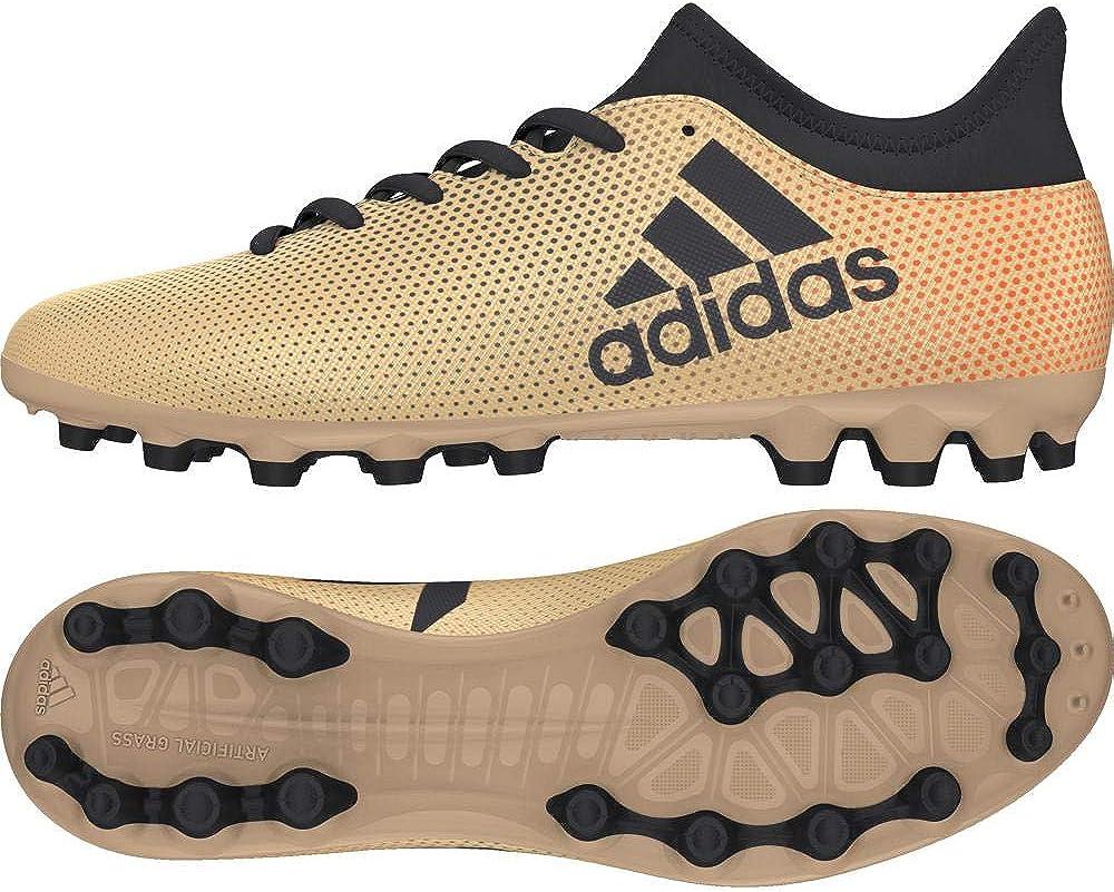 adidas Chaussures de Foot AG X 17.3 AG Homme Doré