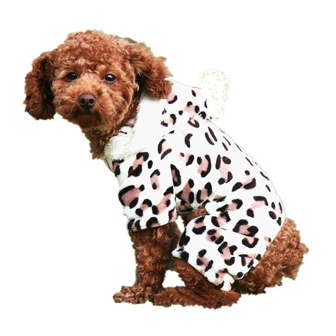 Ropa de Mascotas Amlaiworld Ropa de Invierno para Mascotas Unisex Perros Gatos pequeño Chaleco Camiseta Abrigo Vestido Suéter para Mascotas: Amazon.es: ...