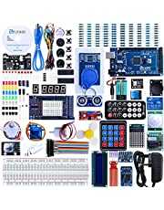 ELEGOO Mega2560 Project The Most Complete Ultimate Starter Kit w/TUTORIAL, MEGA2560 controller board, LCD1602, Servo, Stepper Motor for Mega2560
