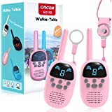 Children Walkie Talkies for 4-12 Year Old Boys Girls, GOCOM Portable Two Way Radios Kids Gift, Long Range Child Walky Talky T