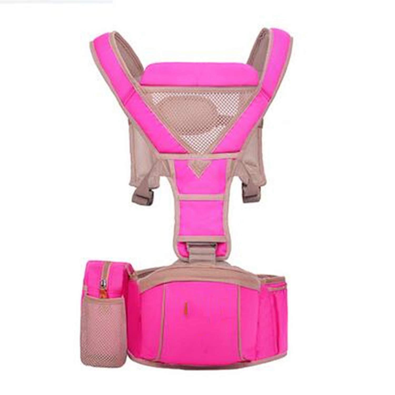 Amazon.com : Baby Carrier Hipseat Kangaroo Rucksack Mochila Portabebe Ergonomic Baby Carrier 360 Hip Seat Baby Sling for Newborn, Rose : Baby