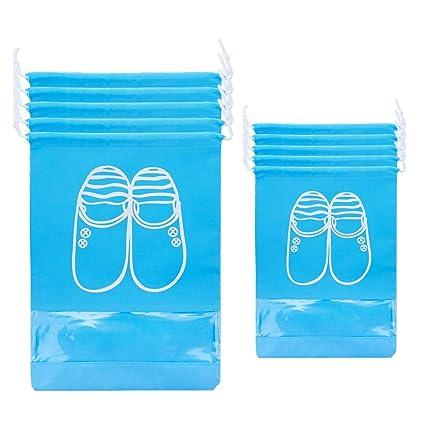 BOYANN 10pcs Bolsas para Zapatos de Viaje Grandes Bolsas de ...