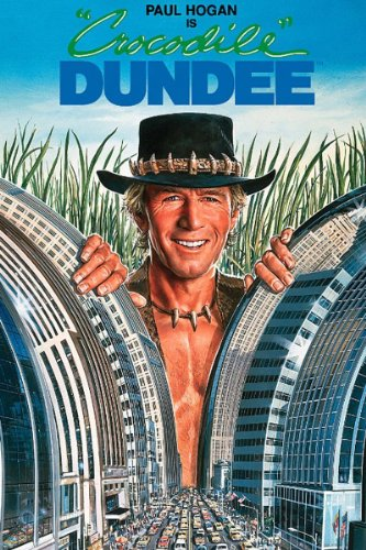 Crocodile Dundee (Popular Tv Shows In The 80s And 90s)
