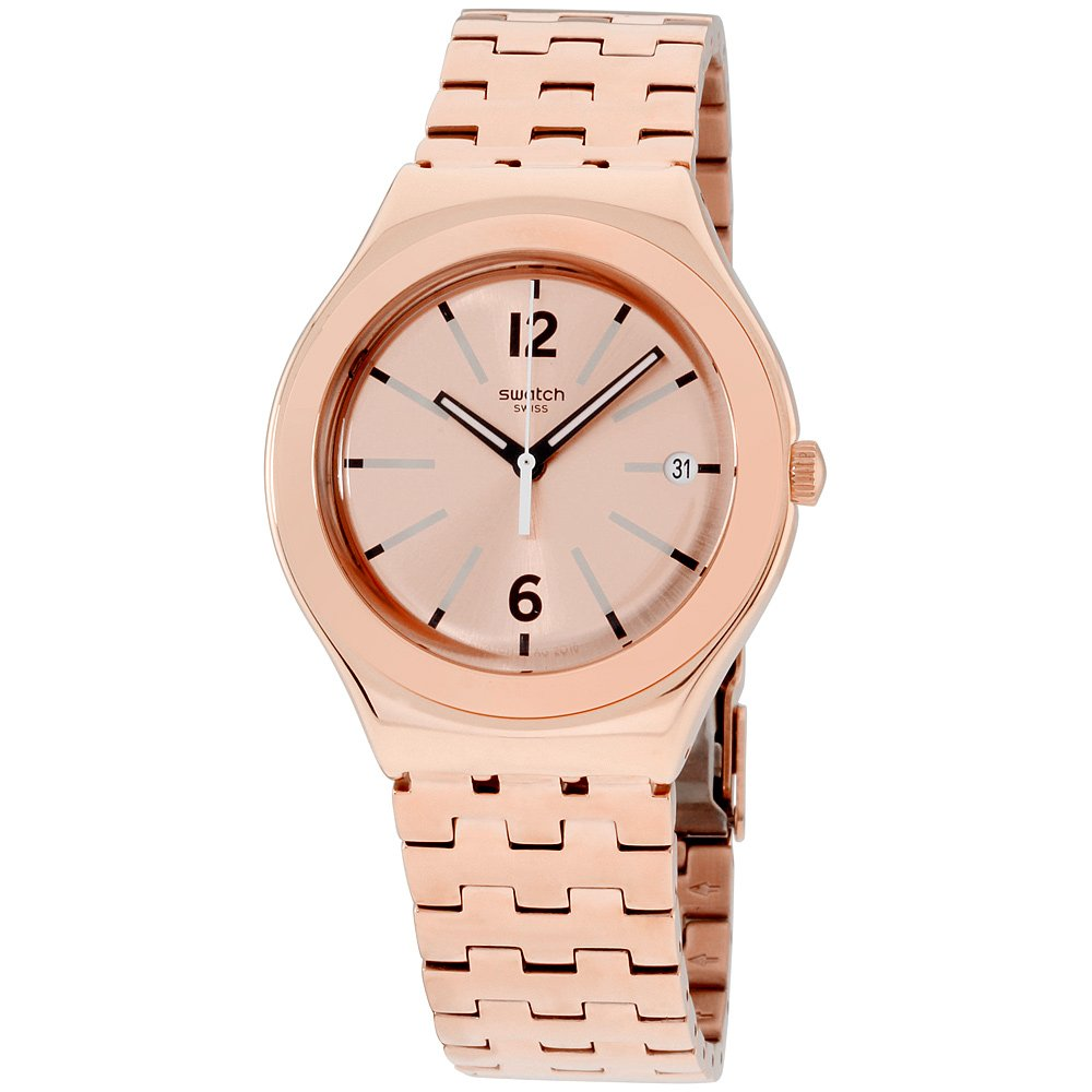 Swatch Irony Rosalina Rose Gold Stainless Steel Unisex Watch YGG408G