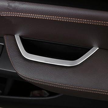 ABS Matte Interior Headlight Switch Button Frame Trim 1PCS For BMW X3 G01 2018