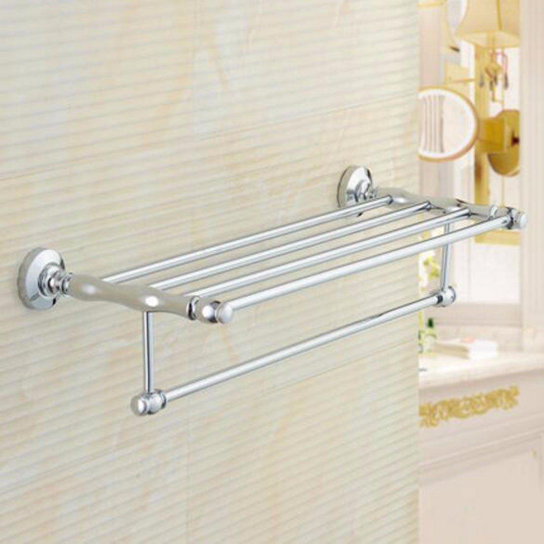 Sursy Badezimmer Hardware hängen, alle Kupfer bad Handtuchhalter, double layer Europäischen antike Handtuchhalter, Badezimmer Rack