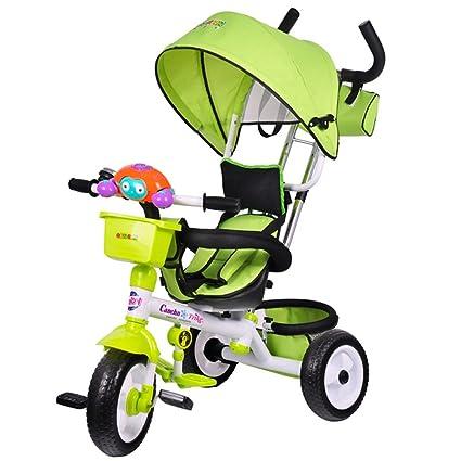 Cochecito de niño triciclo bebé, bicicleta niño, bicicleta ...