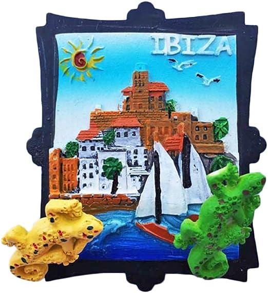 wedaredai Ibiza España Espana Frigorífico magnético 3d Travel ...