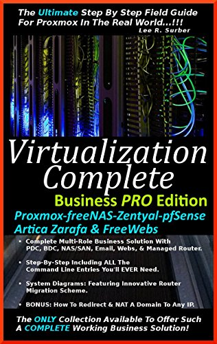 Amazon com: Virtualization Complete: Business PRO Edition (Proxmox