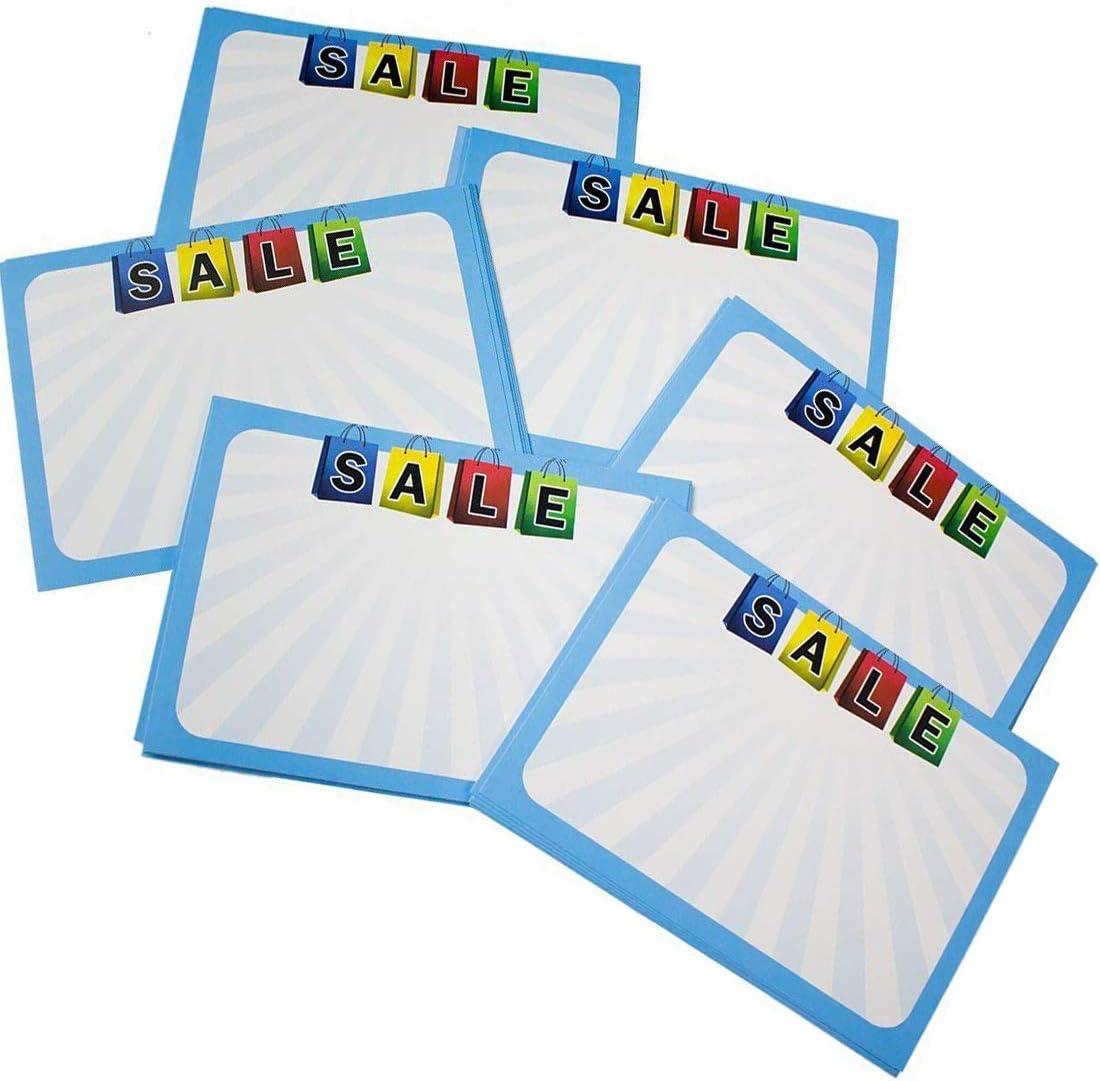 Amazon.com : Retail Genius Sale Price Tag 60 Large Sign Value Pack ...
