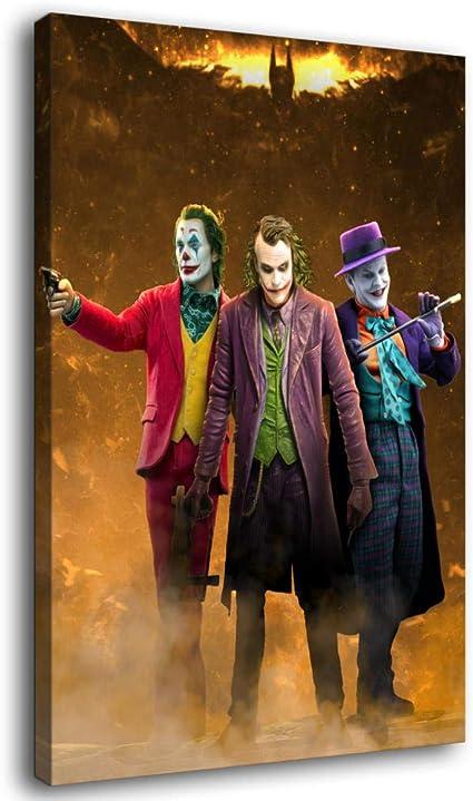 Joker Canvas Art Picture