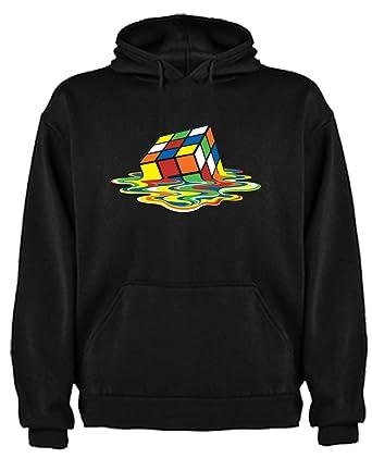 Sudadera de NIÑOS Divertidas Cubo Rubik Divertida Funny DERRER Big Bang Theory: Amazon.es: Ropa y accesorios