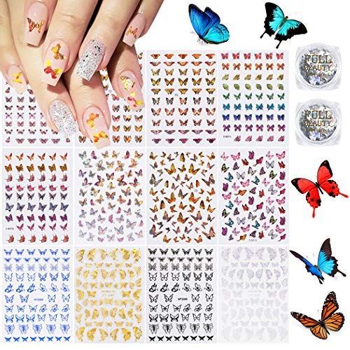 This is an AMAZING set of Nail Transfer Stickers!