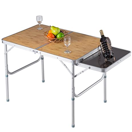 Exceptionnel Aluminum Folding Picnic Camping Table With MDF Table Top   By Choice  Products
