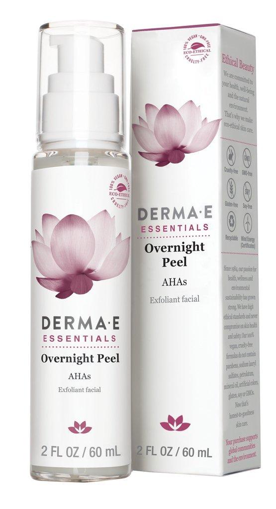 DERMA E Overnight Peel with Alpha Hydroxy Acids 2oz by DERMA-E (Image #1)