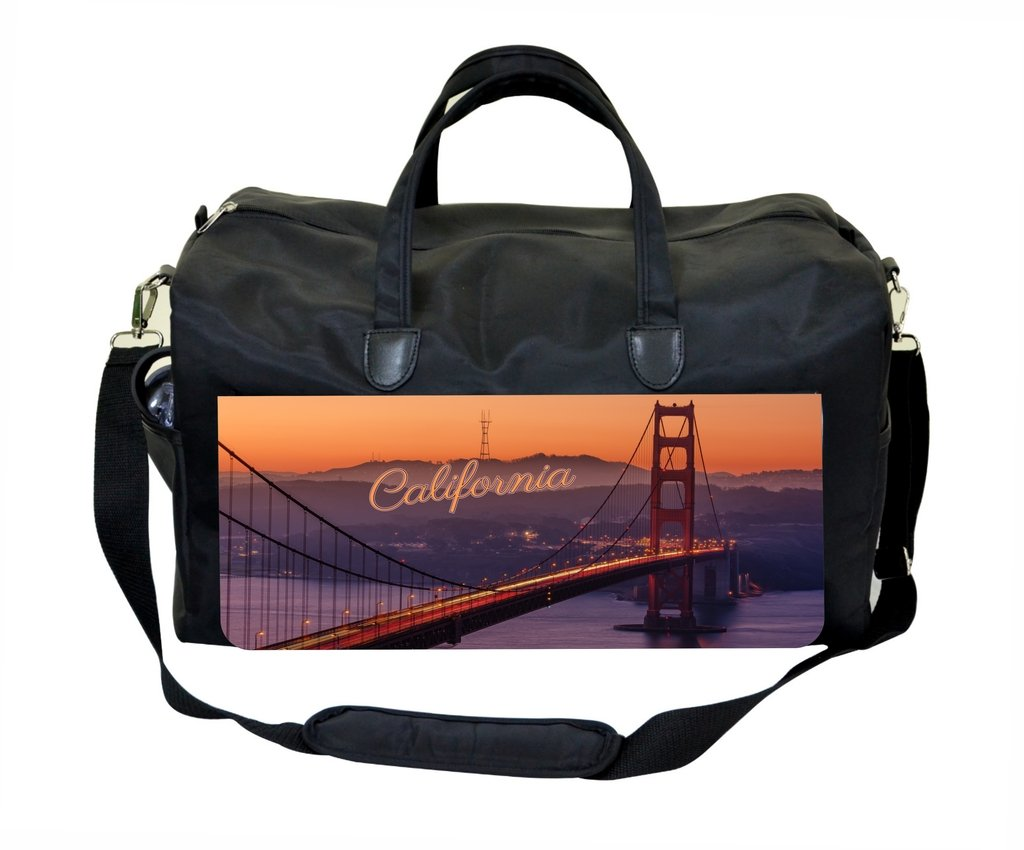 California Post Card Weekender//Overnighter Bag