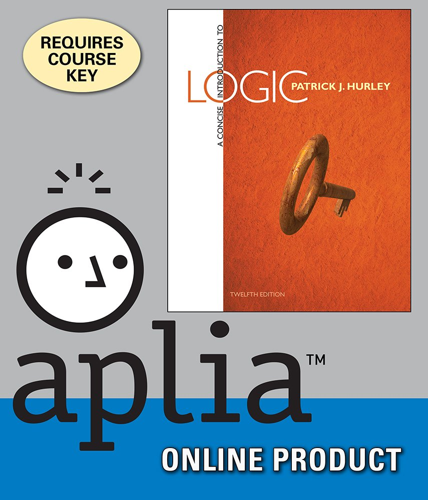 Amazon Aplia For Hurleys A Concise Introduction To Logic 12th