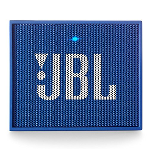 JBL GO Portable Wireless Bluetooth Speaker W/A Built-In Strap-Hook (BLUE) by JBL