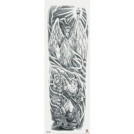 7pcs tatuajes de flores pegatinas tatuaje tatuaje tatuaje pieza ...