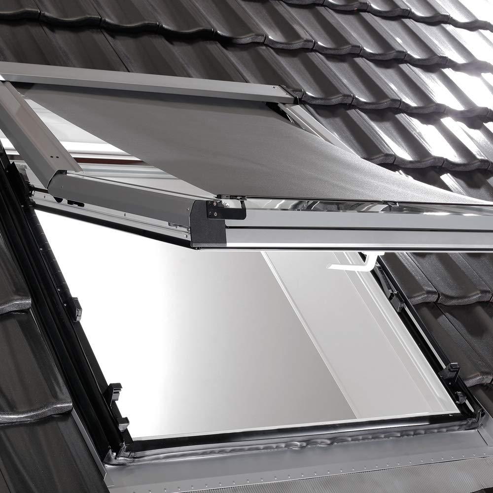 Roto Original Außenrollo Screen ZAR, Rollo für Fenstertyp R84 R85 R86 R88 R89, Fenstergröße 11 14, WDF KAW HAN KEW