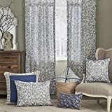 Croscill Janine European Sham, Blue