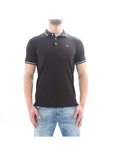 EMPORIO ARMANI TAMWU Tops y Camisetas Hommes Negro Polos Manga ...