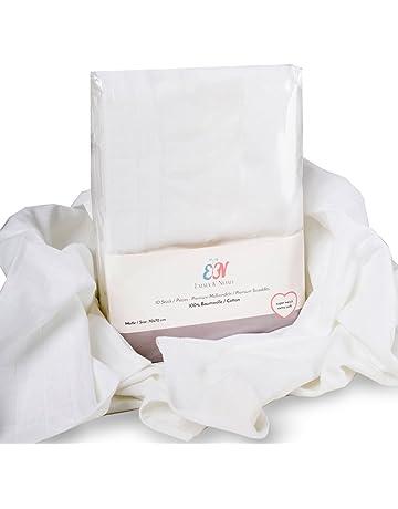 Emma & Noah Gasas, 100% algodón, lavable a 90 °C, 70