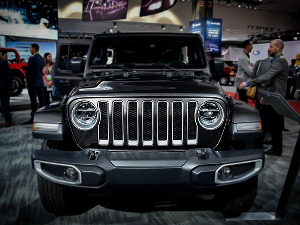 2018 Jeep Wrangler JL Mesh Grille Grill Insert+Headlight Turn Light Cover Trim Red