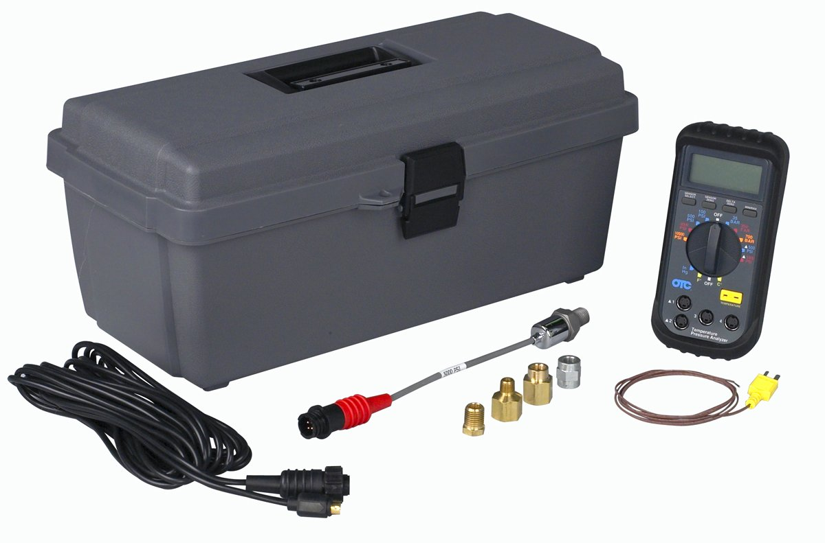Amazon.com: OTC 3492 Heavy-Duty Digital Pressure/Temperature Analyzer:  Automotive