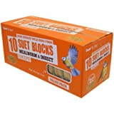 Suet To Go Mealworm & Insect Block Value Pack 10 Pack