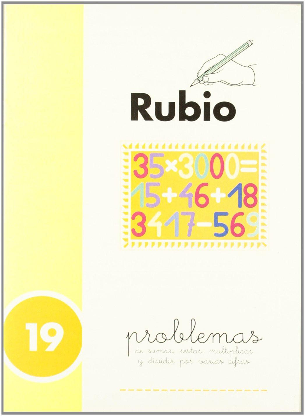 Rubio PR-19 - Cuaderno problemas