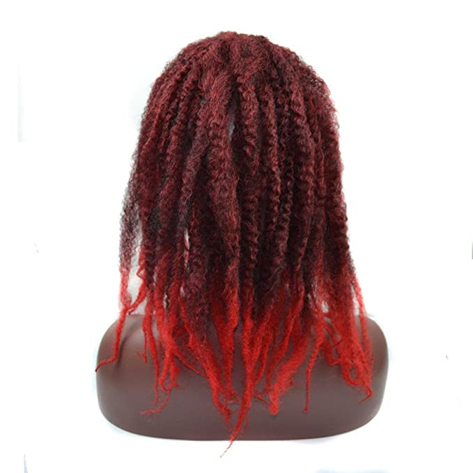 Amazon.com: Huphoon Full Wigs for Black Women Fluffy Curly Twist Crochet Braids Synthetic Hair Cosplay Party False Hair (B): Beauty