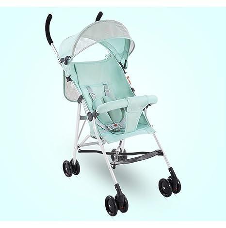&Carrito de bebé Cochecito de bebé Paraguas ligero Portátil plegable Sencillo Cochecito para bebé Coche Mini