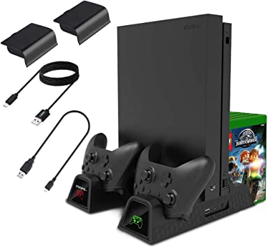 Lictin Xbox One - Soporte Vertical de refrigeración para Xbox One ...