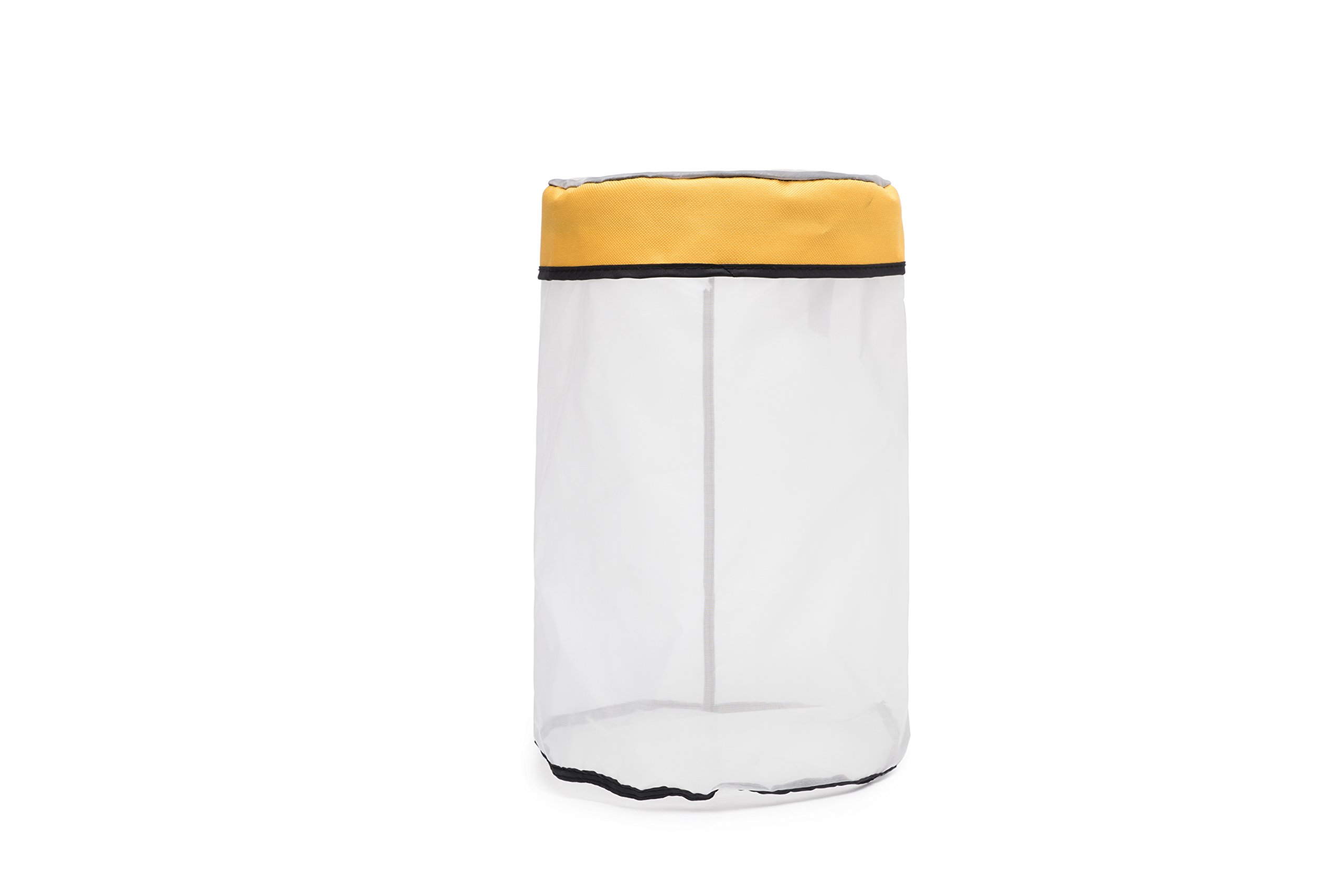 Beslands 5 Gallon 220 Micron Zipper Ice Mesh Hash Bubble Bag Kit for Extracting Herbal Medicine Washing Machine Extractor Filter Bag (Yellow)
