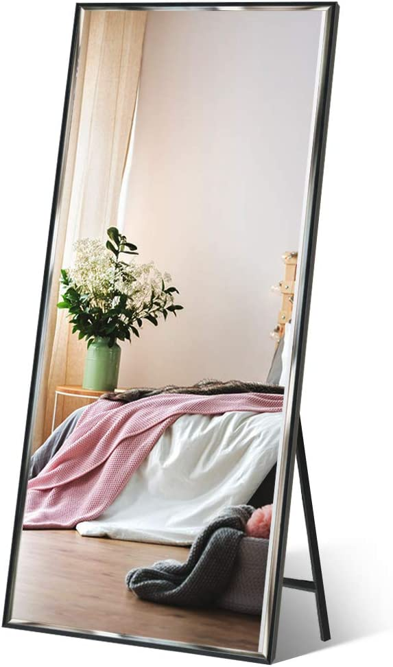 "Full Length Mirror 65""x23.6"" Standing/Wall Hanging by Dreamsyard"