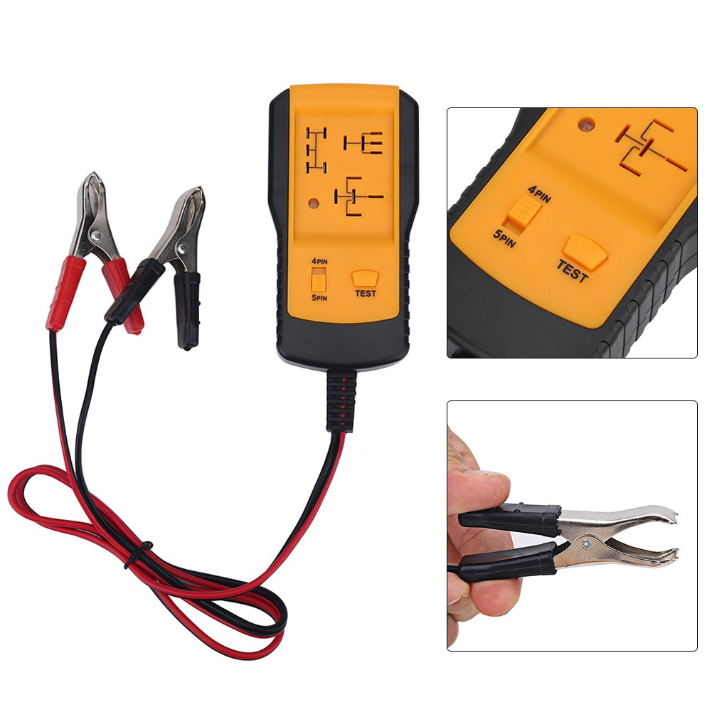 Zerone Car Diagnostic Scanner Tool Universal Automotive Analyzer Diagnostic Tools Relay Tester 12V Cars Auto Battery Checker by Zerone (Image #2)