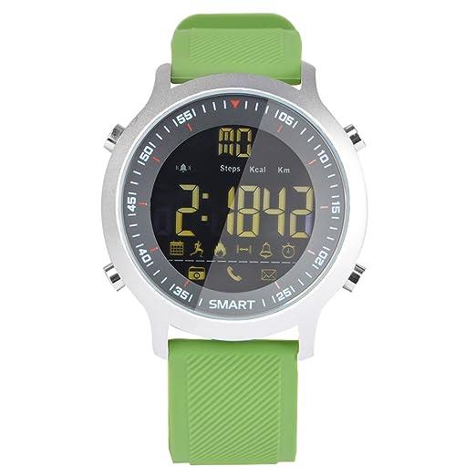Reloj inteligente EX18 con bluetooth 4.0, 5 ATM, resistente al ...