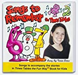 img - for Songs to Remember the Times Tables Music CD for use with Times Tables the Fun Way Book for Kids by Tessie Snow, Judy Liautaud (January 1, 2003) Audio CD book / textbook / text book