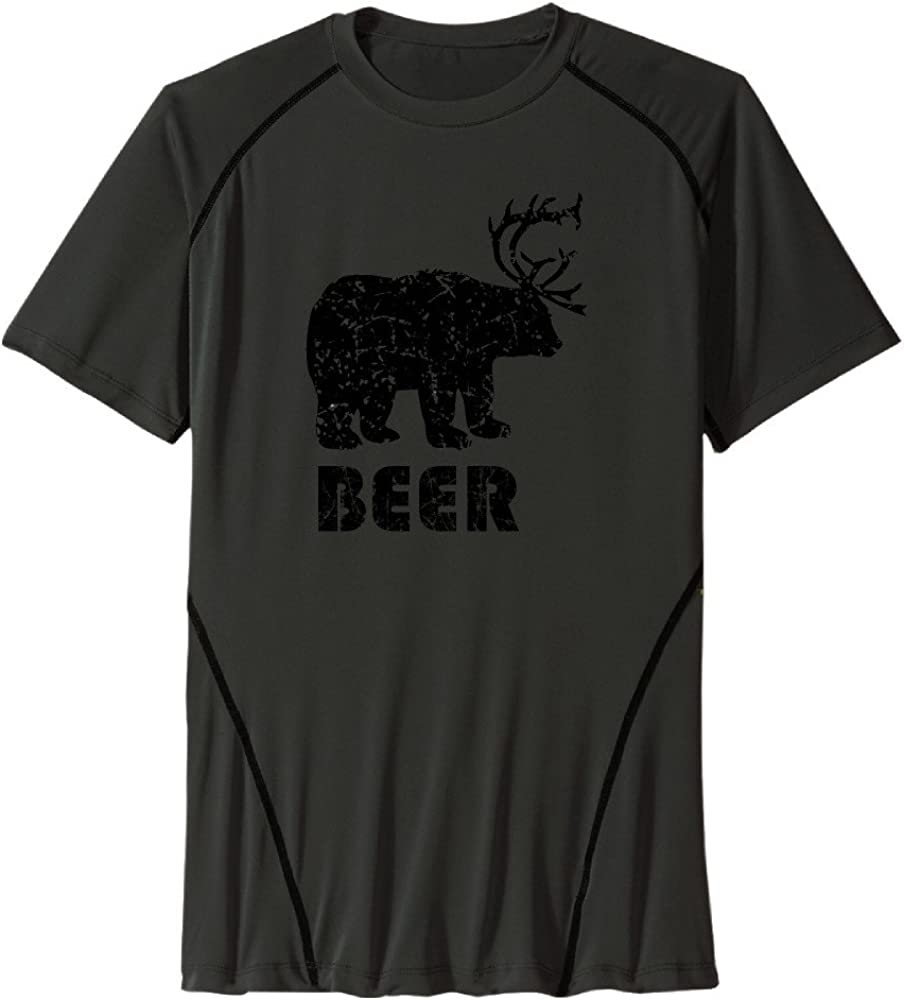 Beer Man Amazing Athletic Shirts Wicking Shirts Personalized T Shirts