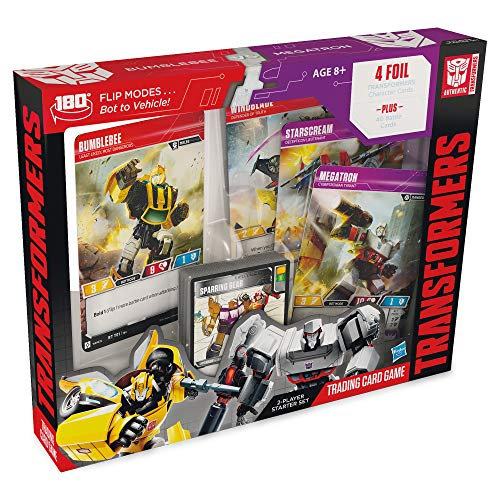 (Transformers TCG: Bumblebee Vs. Megatron 2-Player Starter Set | 1 Ready-to-Play Deck | 44 Cards Incl. Bumblebee )