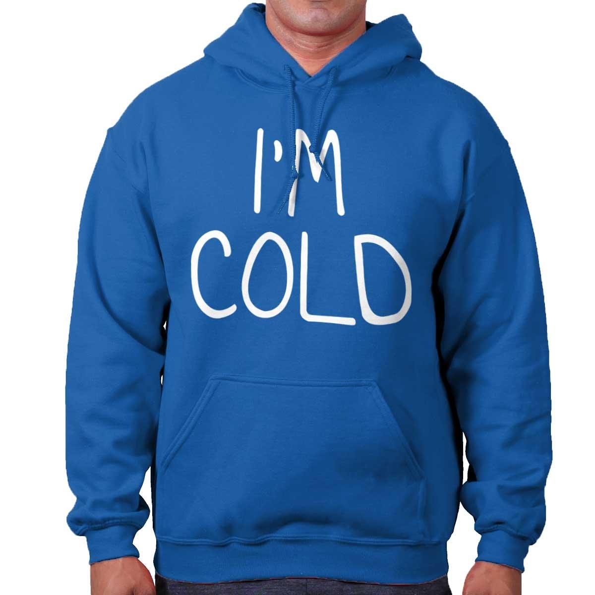Im Cold Cute Shirt Funny Gift Cool Christmas Santa Claus Cute Hoodie Sweatshirt