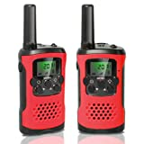 Amazon Price History for:Walkie Talkies for Kids, Techip Walkie Talkies Two-Way Radios with 22 Channels Portable FRS/GMRS Handheld Mini Kids Walkie Talkies Long Range 3.1 Miles (1 Pair ) (Red)
